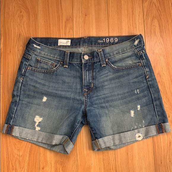 7d0aa57ca063 GAP Shorts   Women Denim Jean Sexy Boyfriend   Poshmark